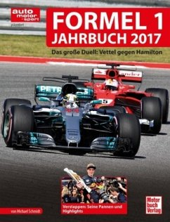 Formel 1-Jahrbuch 2017 (Mängelexemplar) - Schmidt, Michael