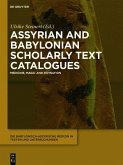 Assyrian and Babylonian Scholarly Text Catalogues (eBook, ePUB)