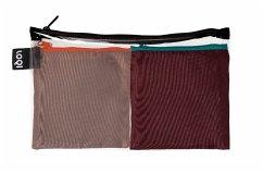 LOQI PURO Pocket - Sepia & Sangria Bags