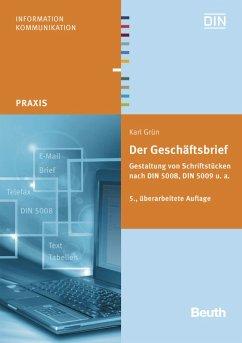 Der Geschäftsbrief (eBook, PDF) - Grün, Karl