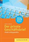 Der private Geschäftsbrief (eBook, PDF)