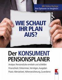 Der KONSUMENT-Pensionsplaner