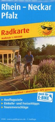 PublicPress Radkarte Rhein - Neckar - Pfalz