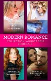 Modern Romance August 2018 Books 5-8 Collection: Wed for His Secret Heir / Tycoon's Ring of Convenience / A Cinderella for the Desert King / Bound by the Billionaire's Vows (eBook, ePUB)
