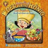 Der kleine König - Zahlensalat und Buchstabensuppe, 1 Audio-CD