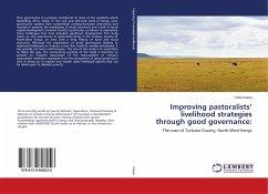 Improving pastoralists' livelihood strategies through good governance: