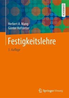 Festigkeitslehre - Mang, Herbert A.;Hofstetter, Günter