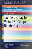 Tactile Display for Virtual 3D Shape Rendering (eBook, PDF)