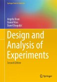 Design and Analysis of Experiments (eBook, PDF)