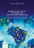 International Policy Diffusion and Participatory Budgeting (eBook, PDF)