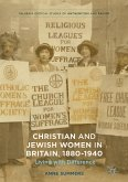 Christian and Jewish Women in Britain, 1880-1940 (eBook, PDF)