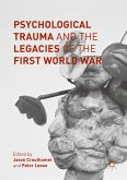 Psychological Trauma and the Legacies of the First World War (eBook, PDF)