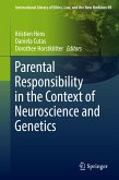 Parental Responsibility in the Context of Neuroscience and Genetics (eBook, PDF)