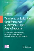 Techniques for Evaluating the Differences in Multiregional Input-Output Databases (eBook, PDF)