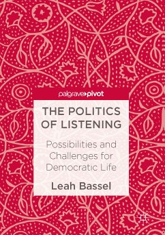 The Politics of Listening (eBook, PDF)