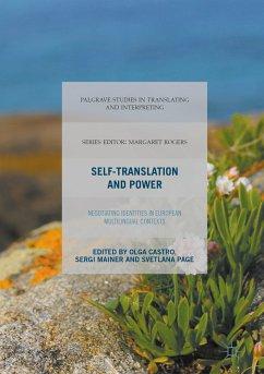 Self-Translation and Power (eBook, PDF)