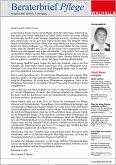 E-Paper Beraterbrief Pflege Ausgabe Mai 2018/10 (eBook, PDF)