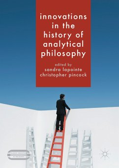 Innovations in the History of Analytical Philosophy (eBook, PDF)