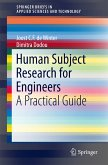 Human Subject Research for Engineers (eBook, PDF)