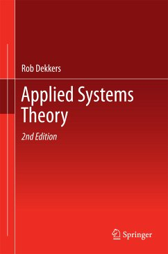 Applied Systems Theory (eBook, PDF) - Dekkers, Rob