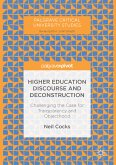 Higher Education Discourse and Deconstruction (eBook, PDF)