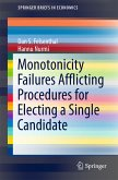 Monotonicity Failures Afflicting Procedures for Electing a Single Candidate (eBook, PDF)
