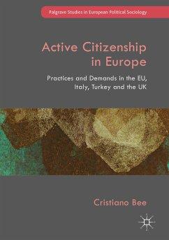 Active Citizenship in Europe (eBook, PDF) - Bee, Cristiano