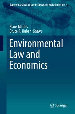 Environmental Law and Economics (eBook, PDF)