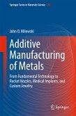 Additive Manufacturing of Metals (eBook, PDF)
