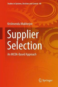 Supplier Selection (eBook, PDF) - Mukherjee, Krishnendu