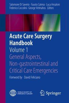 Acute Care Surgery Handbook (eBook, PDF)