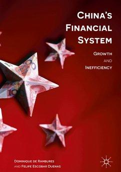 China's Financial System (eBook, PDF) - De Rambures, Dominique; Duenas, Felipe Escobar