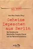 Geheime Depeschen aus Berlin (eBook, ePUB)