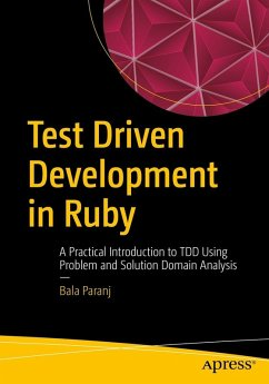 Test Driven Development in Ruby (eBook, PDF) - Paranj, Bala