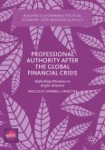 Professional Authority After the Global Financial Crisis (eBook, PDF)