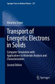 Transport of Energetic Electrons in Solids (eBook, PDF)