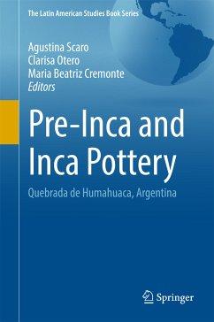 Pre-Inca and Inca Pottery (eBook, PDF)