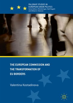 The European Commission and the Transformation of EU Borders (eBook, PDF)