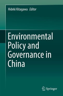Environmental Policy and Governance in China (eBook, PDF)
