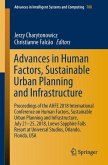 Advances in Human Factors, Sustainable Urban Planning and Infrastructure (eBook, PDF)