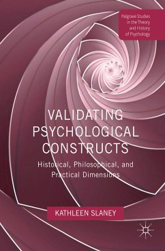 Validating Psychological Constructs (eBook, PDF)