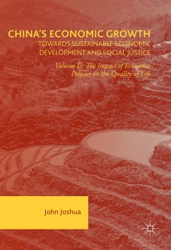 China's Economic Growth: Towards Sustainable Economic Development and Social Justice (eBook, PDF)