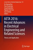 AETA 2016: Recent Advances in Electrical Engineering and Related Sciences (eBook, PDF)
