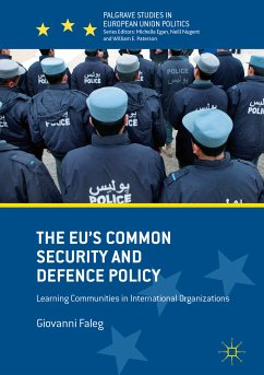 The EU's Common Security and Defence Policy (eBook, PDF) - Faleg, Giovanni