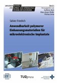Anwendbarkeit polymerer Einhausungsmaterialien für mikroelektronische Implantate