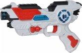 Simba 108042205 - Planet Fighter Space Shooter Laserpistole, mit Licht und Soundfunktion, 23 cm
