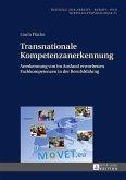 Transnationale Kompetenzanerkennung (eBook, ePUB)