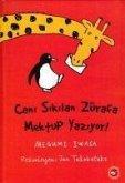 Cani Sikilan Zürafa Mektup Yaziyor Ciltli