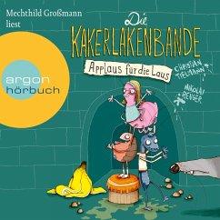 Die Kakerlakenbande - Applaus für die Laus (Ungekürzte Lesung) (MP3-Download)