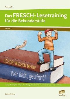 Das FRESCH-Lesetraining für die Sekundarstufe - Rinderle, Bettina